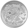 2015 $200 Canada's Rugged Mountains - Pure Silver Coin