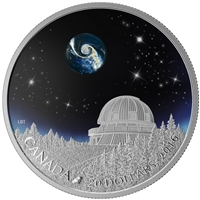 2016 $20 The Universe - Pure Silver Coin