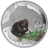 2015 $20 Fine Silver Coin - Baby Animals: Porcupine