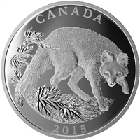 2015 $125 The Grey Fox: Conservation Series - Pure Silver Coin