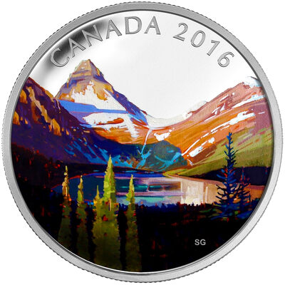 2016 $20 Fine Silver Coin - Canadian Landscape Series - The Lake