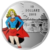 2015 $10 Strength: DC Comics Originals - Pure Silver Coin