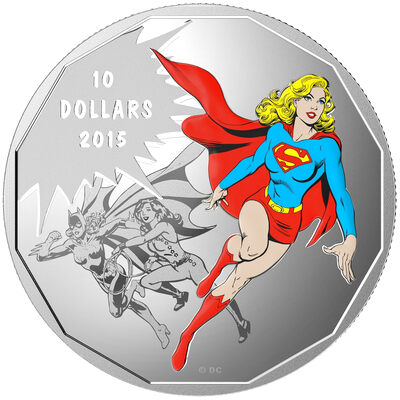 2015 $10 Unity: DC Comics Originals - Pure Silver Coin