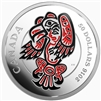 2016 $50 Fine Silver Coin - Mythical Realms of The Haida Series: The Eagle