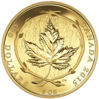 2015 $500 Maple Leaf - Pure Gold Coin