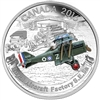 2016 $20 Fine Silver Coin - Aircraft of the First World War Series: The Royal Aircraft Factory S.E.5A
