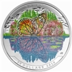 2016 $20 Fine Silver Coin - Landscape Illusion: Butterfly