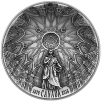 2016 $25 Fine Silver Coin - The Library of Parliament