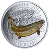 2016 $20 Fine Silver Coin - Canadian Salmonids: Atlantic Salmon