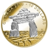 2016 $10 Fine Silver Coin - Iconic Canada: Inukshuk