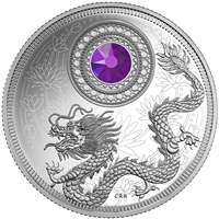 2016 $5 Fine Silver Coin - Birthstones: February