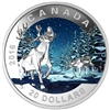 2016 $20 Fine Silver Coin - Geometry in Art: Caribou