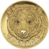 2016 $2,500 Pure Gold Coin - In the Eyes of the Spirit Bear