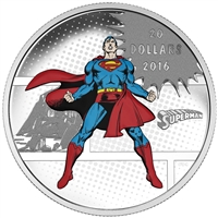 2016 $20 Fine Silver Coin - DC Comics Originals: The Man of Steel