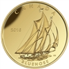 2016 $200 Pure Gold Coin - Tall Ships Legacy: Bluenose