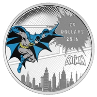 2016 $20 Fine Silver Coin - DC Comics Originals:� The Dark Knight