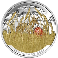 2016 $20 Fine Silver Coin - Landscape Illusion: Pronghorn