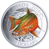 2016 $20 Fine Silver Coin - Canadian Salmonids: Arctic Char