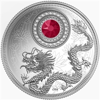 2016 $5 Fine Silver Coin - Birthstones: July