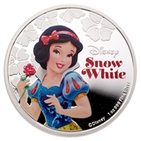 2015 $2 Fine Silver Coin - Disney Princess Snow White
