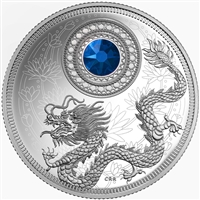 2016 $5 Fine Silver Coin - Birthstones: September