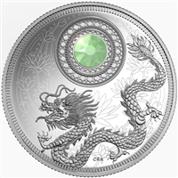 2016 $5 Fine Silver Coin - Birthstones: October