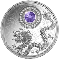 2016 $5 Fine Silver Coin - Birthstones: December