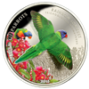 2015 $5 Sterling Silver 3D Coin - Rainbow Lorikeet