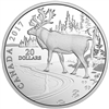 2017 $20 Nature's Impressions: Woodland Caribou