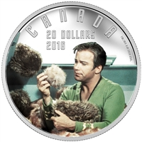2016 $20 Fine Silver Coin - Star Trek: The Trouble with Tribbles