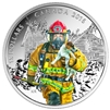 2016 $15 Fine Silver Coin - National Heroes: Firefighters