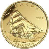 2016 $200 Pure Gold Coin - Tall Ships Legacy: Amazon