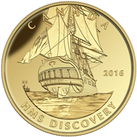 2016 $200 Pure Gold Coin - Tall Ships Legacy: Discovery