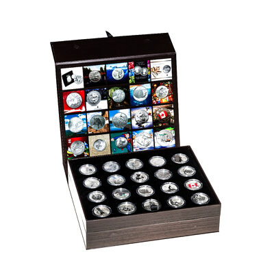 2011-2015 $20 for $20 and $25 for $25 Complete 20 Coin Pure Silver Collection