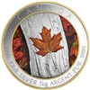2016 $250 Fine Silver Coin - Maple Leaf Forever