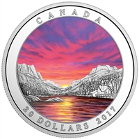 2017 $20 Weather Phenomenon: Fiery Sky - Pure Silver Coin