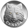 2017 $250 In the Eyes of the Timber Wolf - Pure Silver Coin