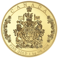 2016 $2500 Pure Gold Coin - The Arms of Canada