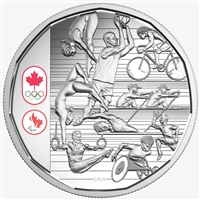 2016 $1 Limited Edition Proof Silver Dollar - Celebrating Canadian Athletes