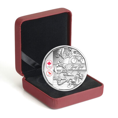 Canadian Athletes Limited Edition Proof Silver Dollar $1 Coin 2016 Rio Olympics