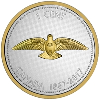2017 1c Big Coin Series: Dove