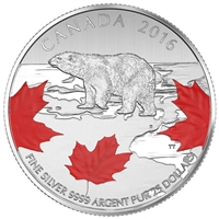 2016 $25 for $25 Fine Silver Coin - True North