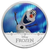 2016 $2 Frozen: Magic of the Northern Lights Collection: Olaf