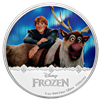 2016 $2 Frozen: Magic of the Northern Lights Collection: Kristoff and Sven