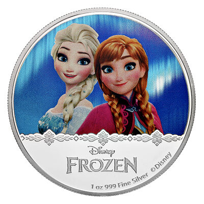 2016 $2 Frozen: Magic of the Northern Lights Collection: Elsa and Anna