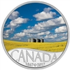 2017 $10 Fine Silver Coin - Celebrating Canada's 150th: Canola Field (Manitoba)