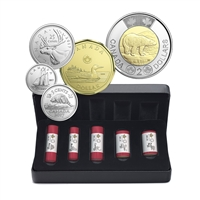 2017 Classic Canadian Coins Speial Wrap - 5 Roll Collection