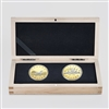 2017 $1 The Loonie, 30th Anniversary - 2 Coin Pure Gold Set