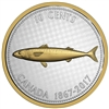 2017 10c Big Coin Series: Mackerel - 5 oz. Pure Silver Coin