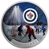 2017 $10 Passion to Play: Winnipeg Jets - Pure Silver Coin